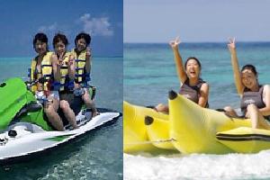 ジェットスキー&バナナボート