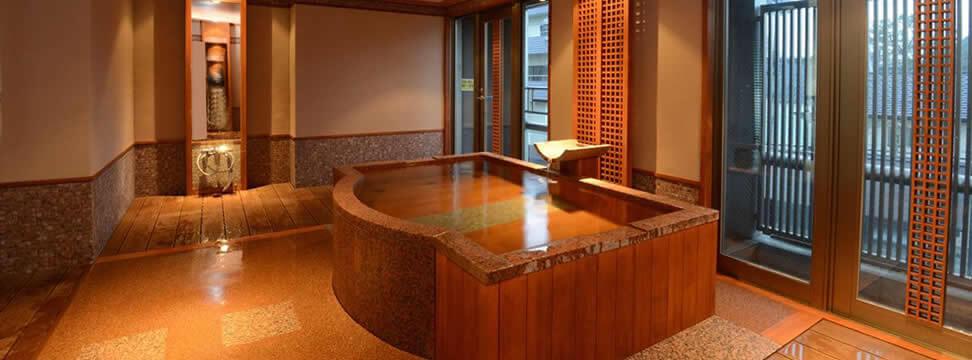 貸切風呂のある<br>温泉宿